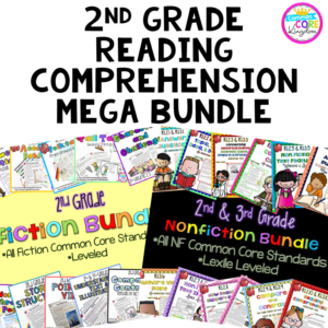 2nd Grade Reading Comprehension Mega Bundle