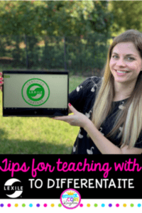 Tips for Teaching with Lexile