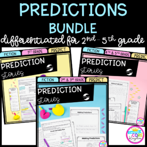 Predictions Bundle for 2nd thorough 5th grade product cover