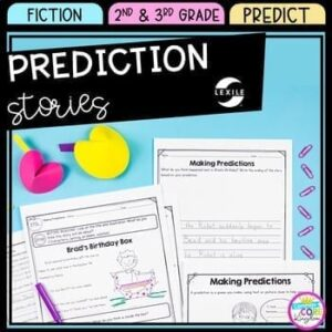 Making Predictions in Fiction Stories for 2nd & 3rd Grade product cover