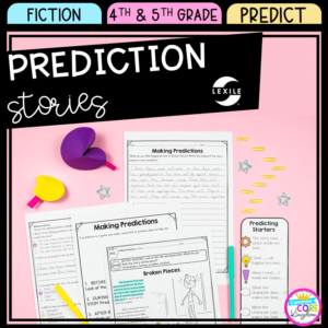 Predicting Stories for 4th & 5th grade cover