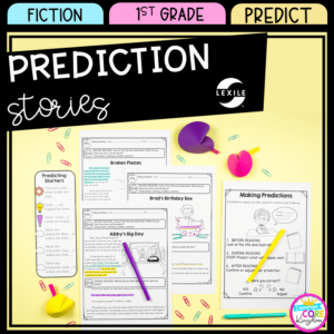 Predicting Stories for First Grade Cover