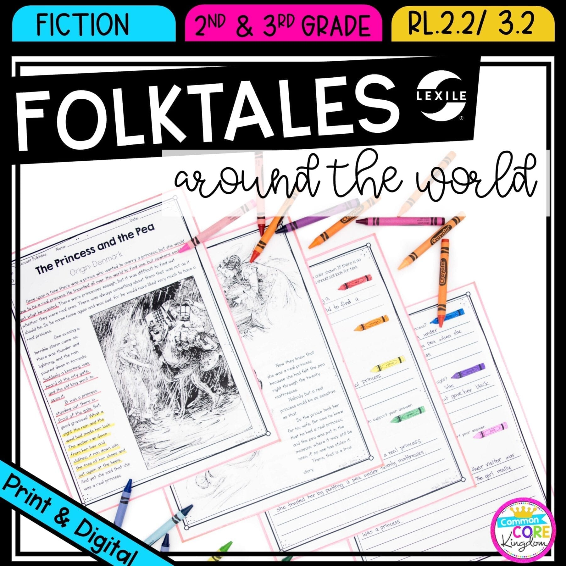 Folktales And Fairytales Recount Stories Common Core Kingdom